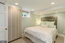 Lower Level Bedroom 2 - 1537 N IVANHOE ST, ARLINGTON