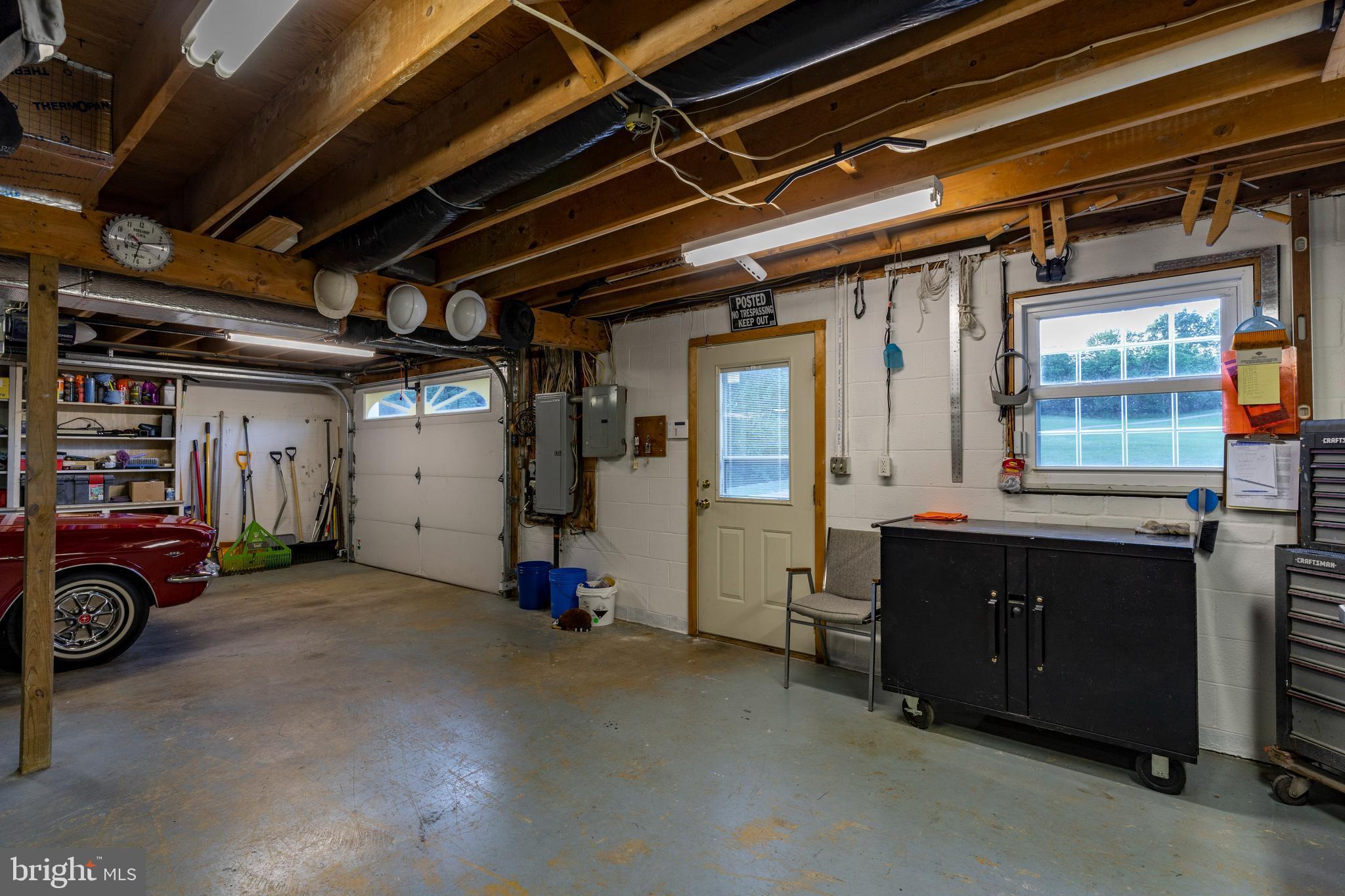 Garage /shop lower level