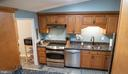 Kitchen with stainless steel appliances - 5919 VERNONS OAK CT, BURKE