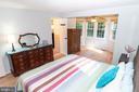 Spacious Main bedroom with ensuite bathroom - 5919 VERNONS OAK CT, BURKE