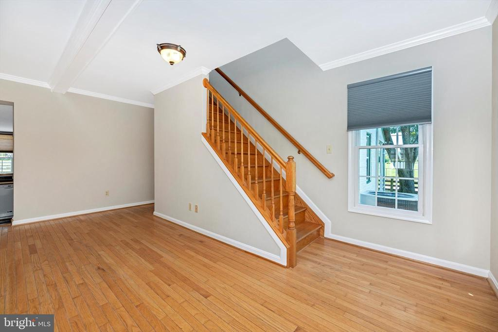 one of 3 sets of stairs - 10302 COPPERMINE RD, WOODSBORO
