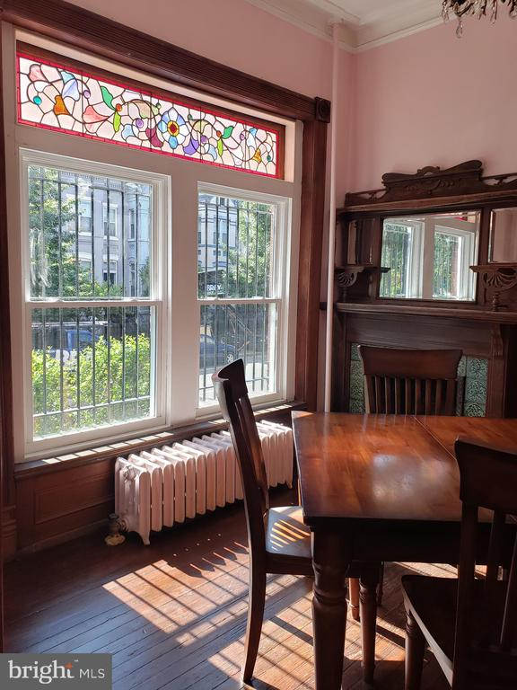 Beautiful Sunlight and Stained Glass - 1115 RHODE ISLAND AVE NW, WASHINGTON