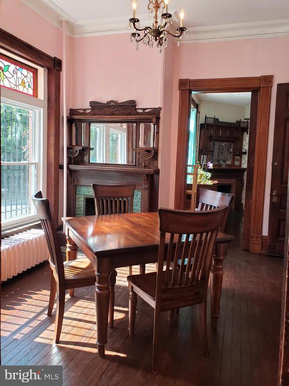 Dining Room on the Main Floor - 1115 RHODE ISLAND AVE NW, WASHINGTON