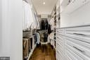Owner's Suite | Custom Closet - 7822 JACKSON MOUNTAIN DR, FREDERICK