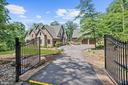 Gated Front Entrance - 7822 JACKSON MOUNTAIN DR, FREDERICK