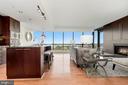 Floor to ceiling windows - 2001 15TH ST N #1106, ARLINGTON