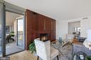 Living Room opens to Balcony - 2001 15TH ST N #1106, ARLINGTON