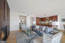 Fireplace and built ins - 2001 15TH ST N #1106, ARLINGTON