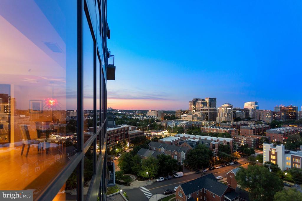 Virginia skyline - 2001 15TH ST N #1106, ARLINGTON