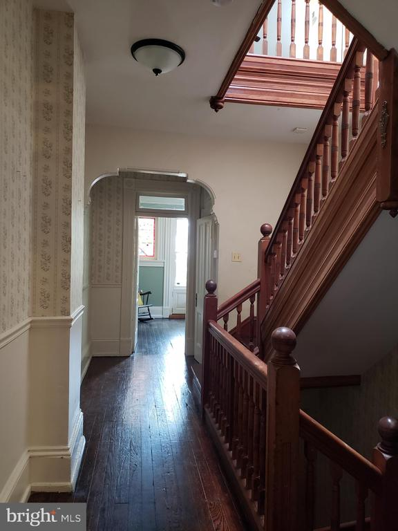 Second Floor Hall Into Front Bedroom - 1115 RHODE ISLAND AVE NW, WASHINGTON