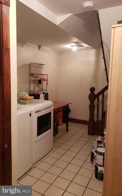 Main House Laundry Room. - 1115 RHODE ISLAND AVE NW, WASHINGTON