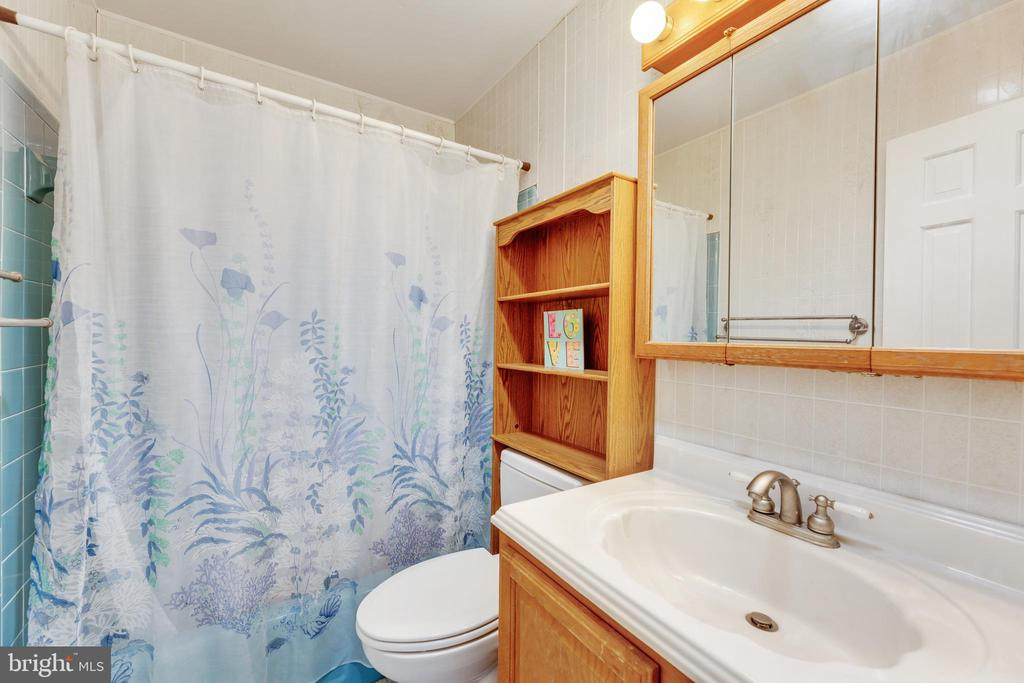 Hall bath has another suntube for natural light! - 3208 SHOREVIEW RD, TRIANGLE