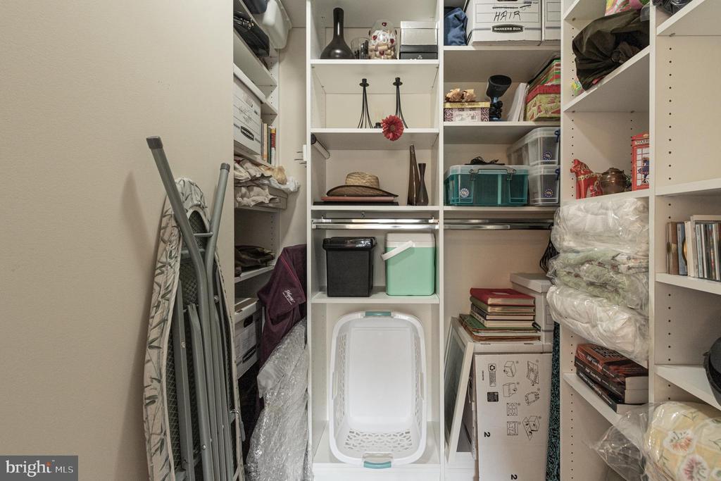 Bedroom Closet - 11990 MARKET ST #215, RESTON