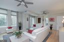 Living Room - 11990 MARKET ST #215, RESTON