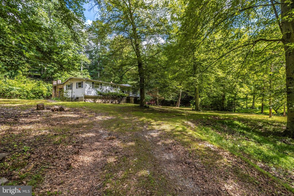 Driveway/House - 6233 YEAGERTOWN RD, NEW MARKET