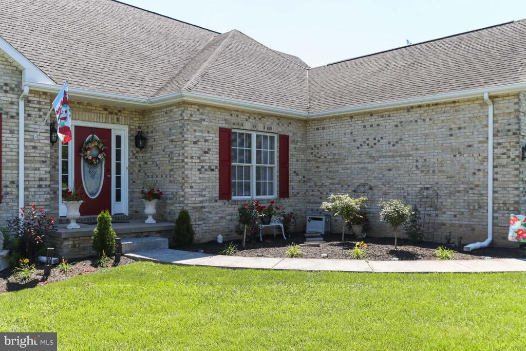 The Lot Has Lovely Landscaping! - 384 TURNBERRY DR, CHARLES TOWN