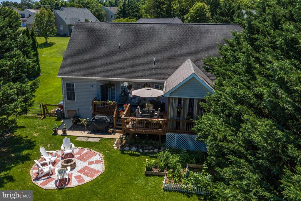 Aerial View! - 384 TURNBERRY DR, CHARLES TOWN