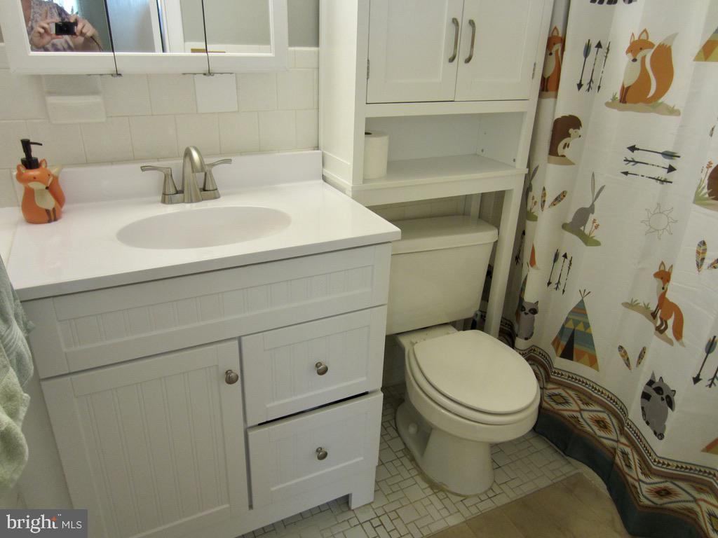 Lower level bathroom - 81 ESTATE ROW, STAFFORD