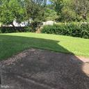 Backyard patio - 13221 HAWTHORN LN, WOODBRIDGE