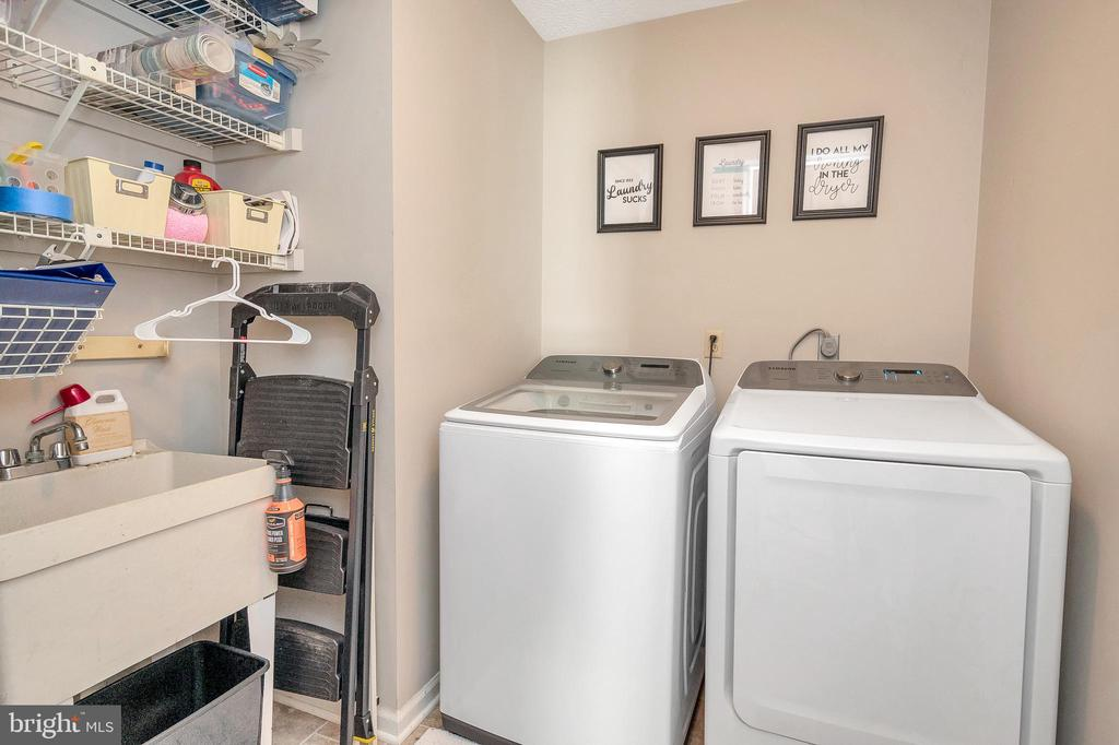 Separate Room Laundry  with utility sink - 141 EAGLE CT, LOCUST GROVE