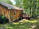 Backyard and deck - 12300 PLANTATION DR, SPOTSYLVANIA