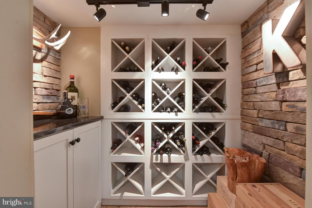 Wine cellar! - 3302 ELMORE DR, ALEXANDRIA
