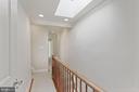 Sky lit upper hallway - 121 6TH ST NE, WASHINGTON