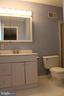 Primary full bath - 8503 QUEEN ELIZABETH BLVD, ANNANDALE