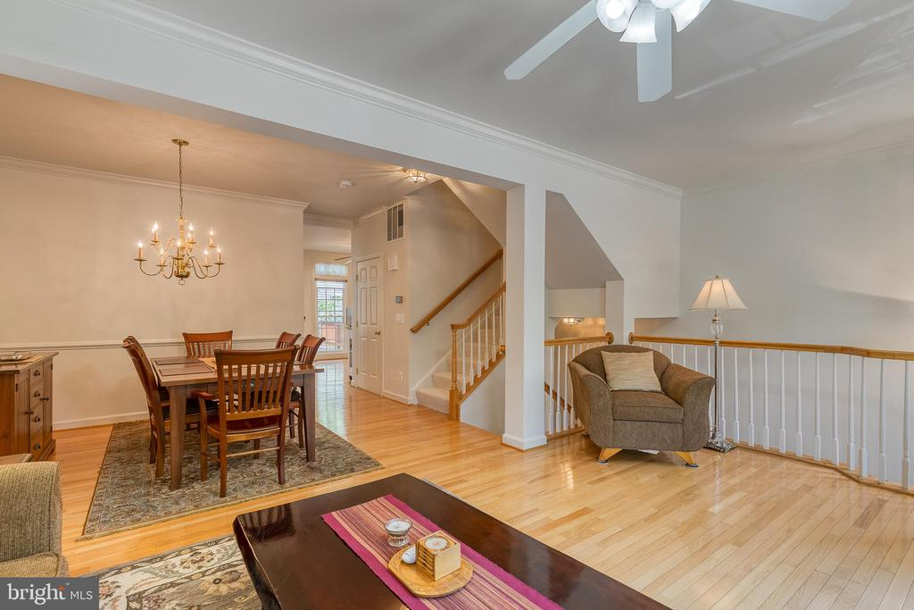 Family and Dining rooms - 7032 REGIONAL INLET DR, FORT BELVOIR