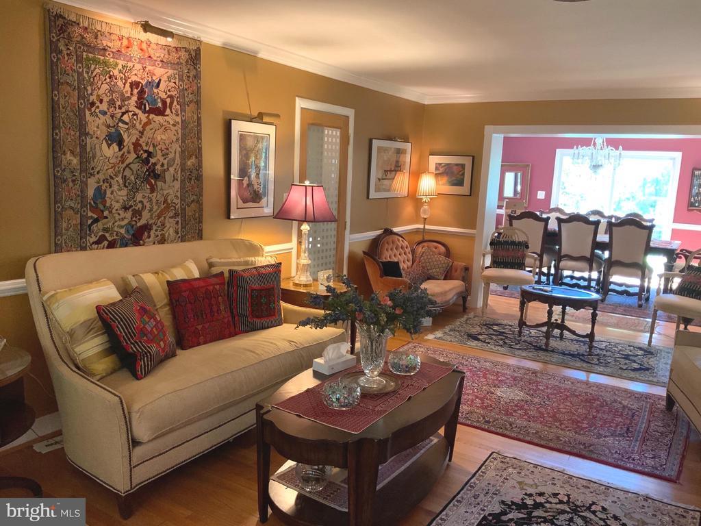 Living Room/Formal Dinning - 6551 DEARBORN DR, FALLS CHURCH