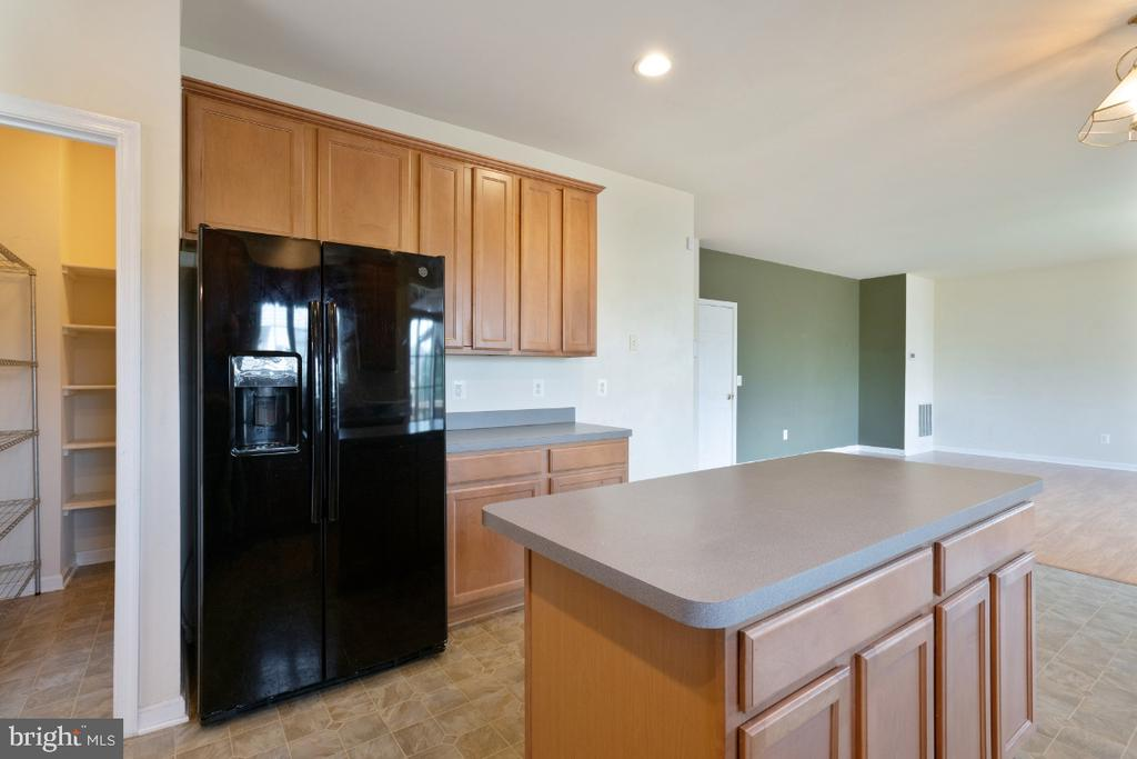 KITCHEN WITH AN ISLAND - 402 CRAIG DR, STEPHENS CITY