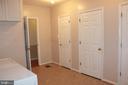 Storage in laundry room - 8503 QUEEN ELIZABETH BLVD, ANNANDALE
