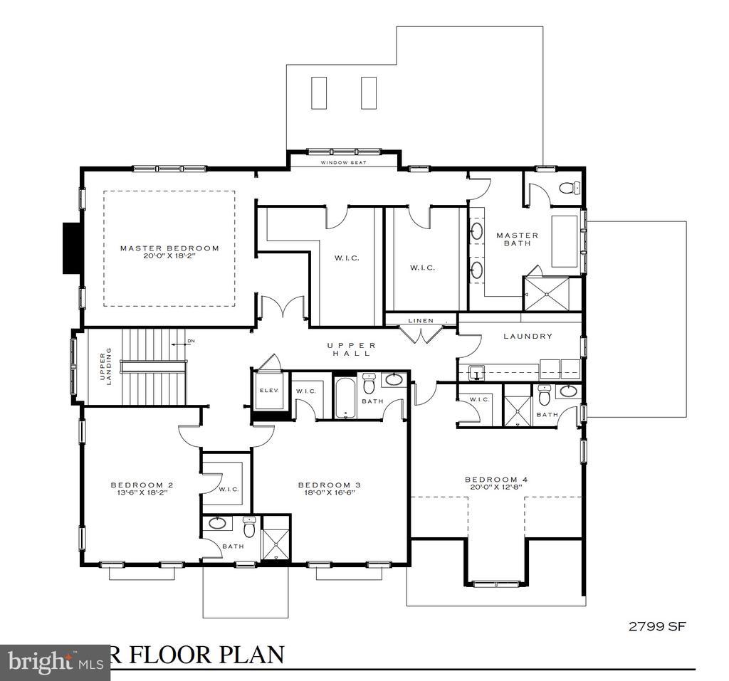 Expansive Master suite. 3 secondary en-suite BR - 3150 N POLLARD ST, ARLINGTON