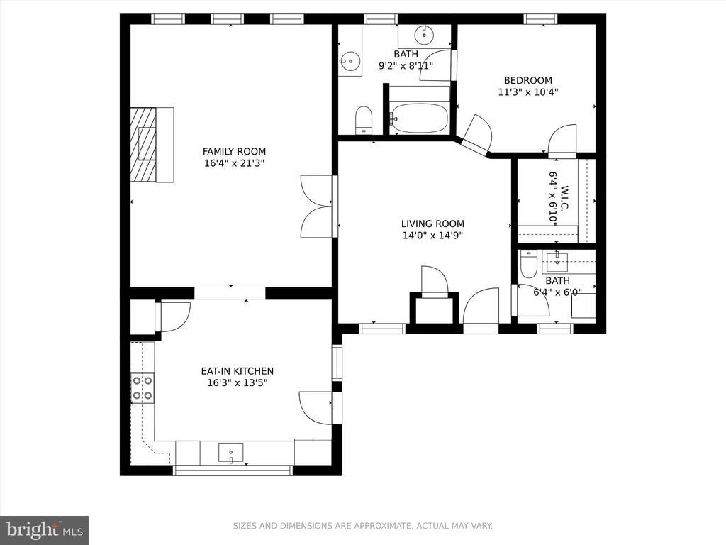 In-law suite floor plan - 10740B WOODSBORO RD, WOODSBORO