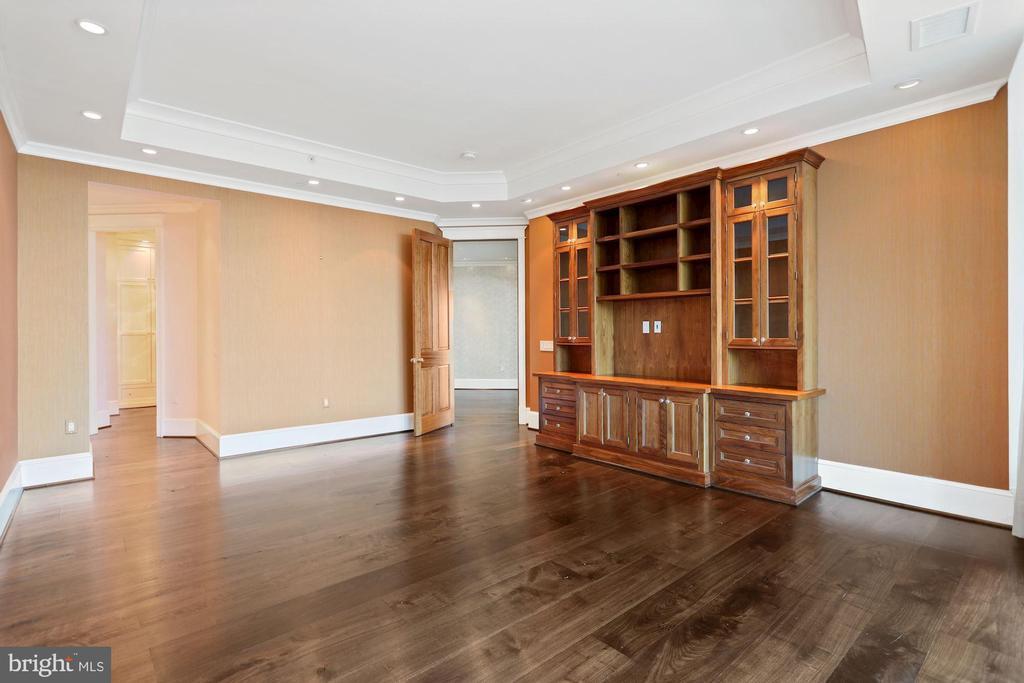 Primary bedroom finished with custom built ins - 1881 N NASH ST #2311, ARLINGTON