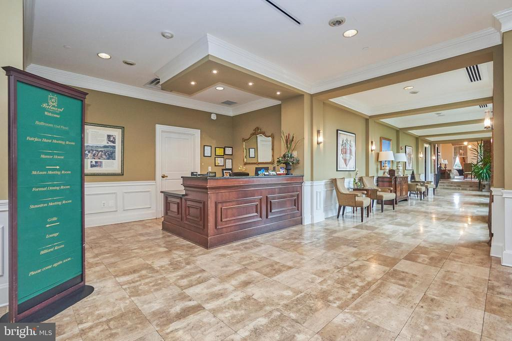 Belmont country club amenity - Clubhouse concierge - 20003 BELMONT STATION DR, ASHBURN