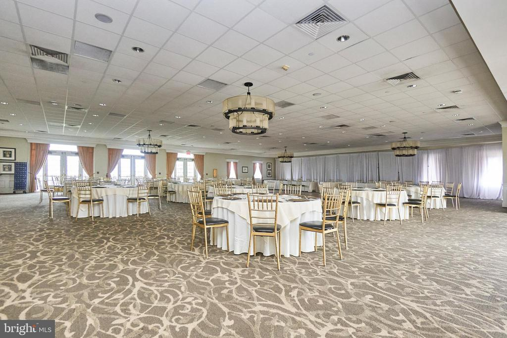 Belmont country club amenity - Party/Wedding hall - 20003 BELMONT STATION DR, ASHBURN