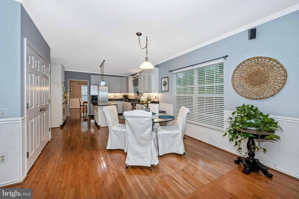 Large area for kitchen table - 6304 SPRING FOREST RD, FREDERICK