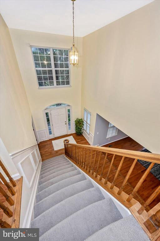 Beautiful foyer - 6304 SPRING FOREST RD, FREDERICK