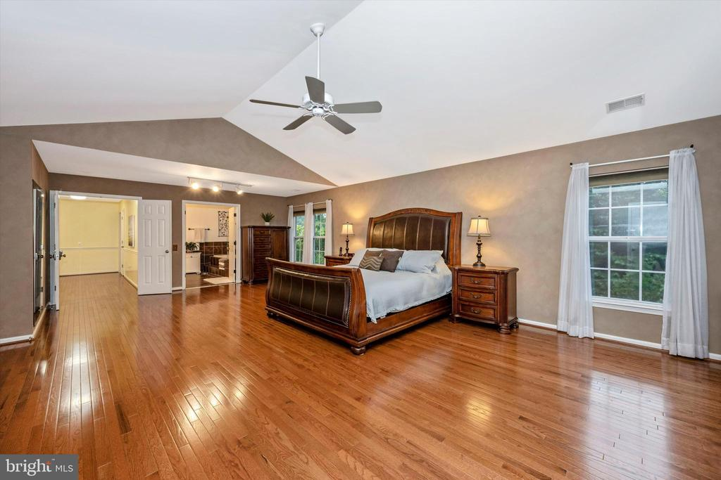 Owner's suite with TWO huge walk-in closets! - 6304 SPRING FOREST RD, FREDERICK