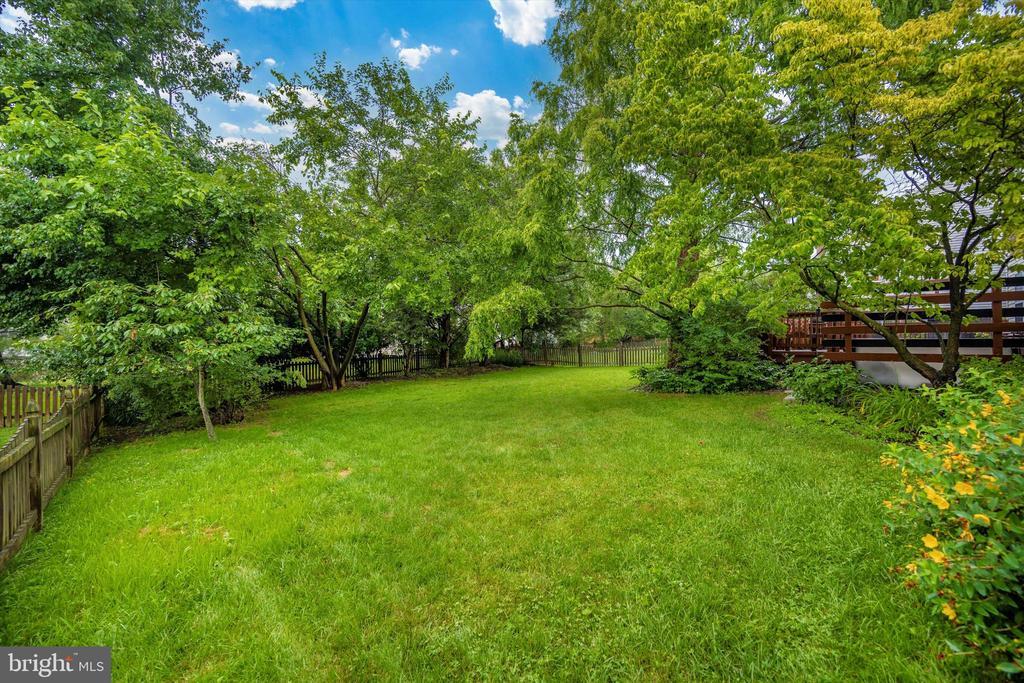 back yard - 6304 SPRING FOREST RD, FREDERICK