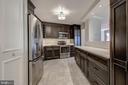 Kitchen - Features Raised Breakfast Bar! - 5904 MOUNT EAGLE DR #504, ALEXANDRIA