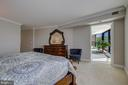 Primary/Master Bedroom- Access to Sun/Florida Room - 5904 MOUNT EAGLE DR #504, ALEXANDRIA