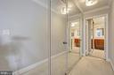 Hallway/Dressing Area to Master/Primary Bath - 5904 MOUNT EAGLE DR #504, ALEXANDRIA