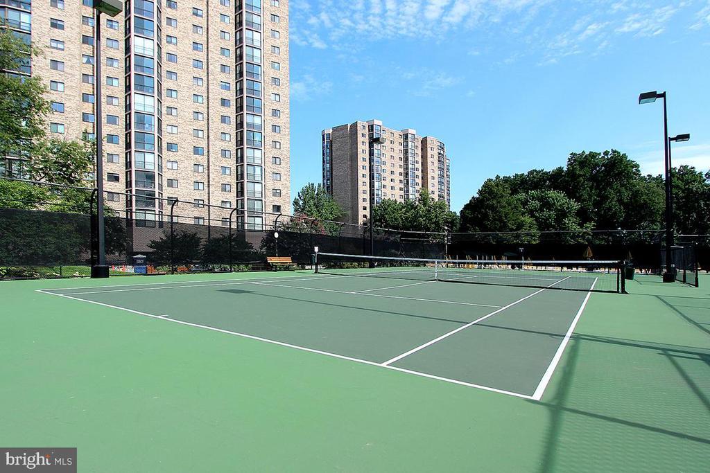 Montebello Tennis Courts! - 5904 MOUNT EAGLE DR #504, ALEXANDRIA