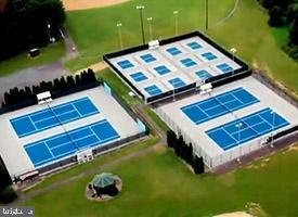 tennis courts at Hollyfield Park - 108 BEACHSIDE CV, LOCUST GROVE