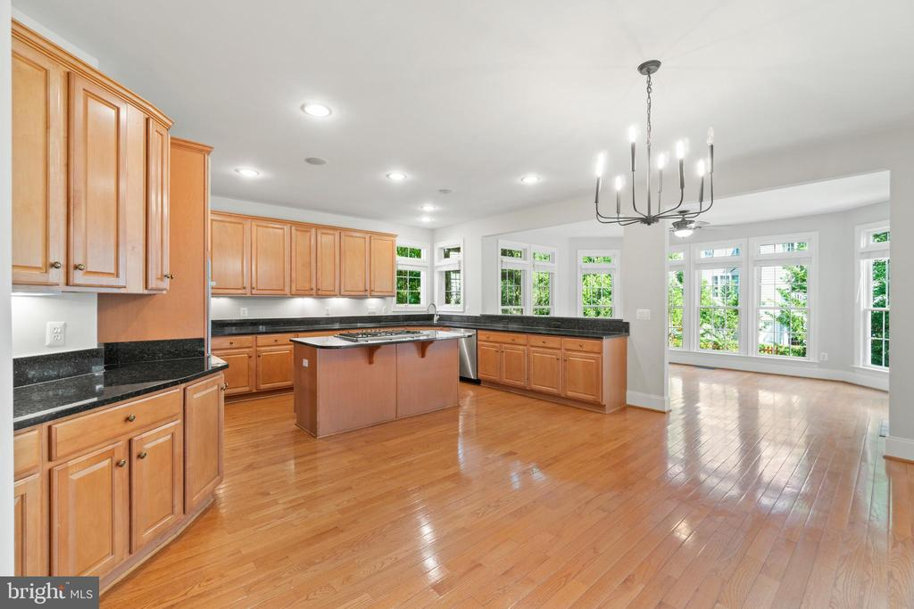This floor plan!  Open to the bright sunroom - 43409 RIVERPOINT DR, LEESBURG