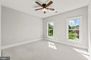 Spacious secondary bedroom #3 - 43409 RIVERPOINT DR, LEESBURG