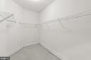 Huge primary bedroom closet #1 - 43409 RIVERPOINT DR, LEESBURG