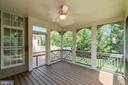 Spectacular outdoor living-gorgeous screened porch - 43409 RIVERPOINT DR, LEESBURG